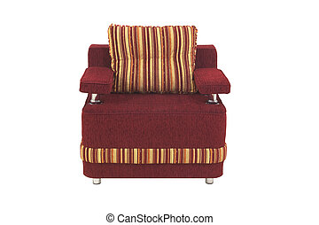 Armchair - A armchair isolated on a white background