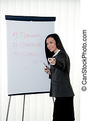 coach flip chart in german. training and educations - coach...