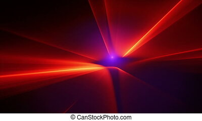 red beams motion background