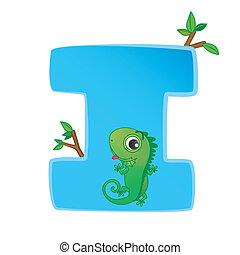 animal alphabet I - illustration of isolated animal alphabet...