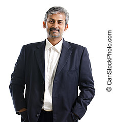 Indian businessman - Good looking mature Asian Indian male...