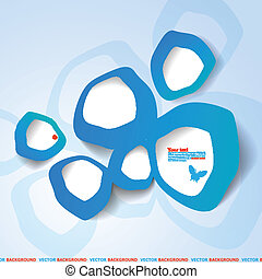 abstract bubble web design
