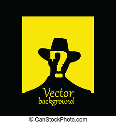 vector wanted poster image - vector illustration