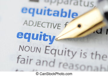 Equity - Dictionary Series