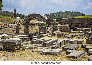 Olympia Greece - An image of the famous heritage Olympia in...