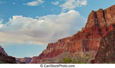 Time-lapse of the Grand Canyon - Time-lapse view of the...