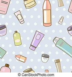 cosmetics pattern