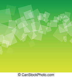 green squares - abstract green squares background
