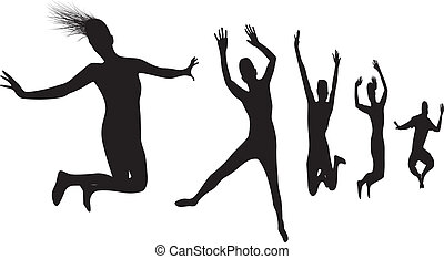 jumper silhouettes