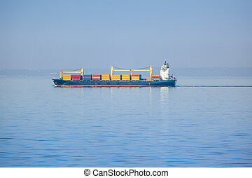 transportation ship - An image of a transportation ship