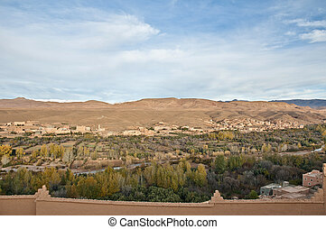 Boulmalne Dades valley at Morocco