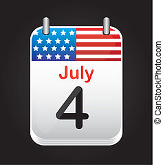 Independence day - 4 July background, independence day...