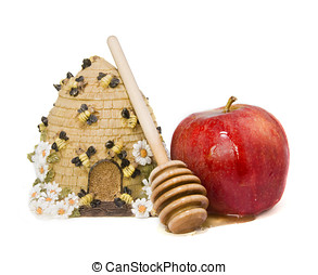 A sweet New Year - Sweet symbols of the Jewish New Year:...