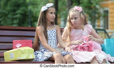 Little Shopping Girls