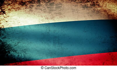 Russian Federation Flag Waving