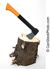 new axe - an axe for wood chopping