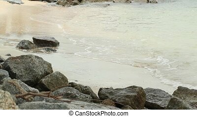 Wave, Sand and Rock 2