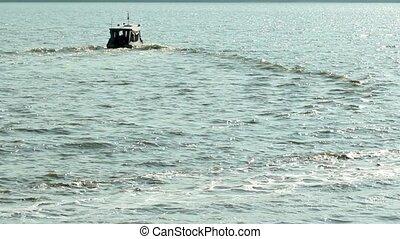 Boat Departing 3