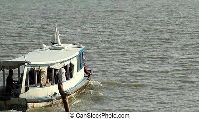 Boat Departing 1