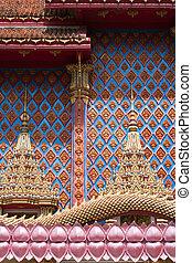 Thai Thai Buddhist Temple Detail