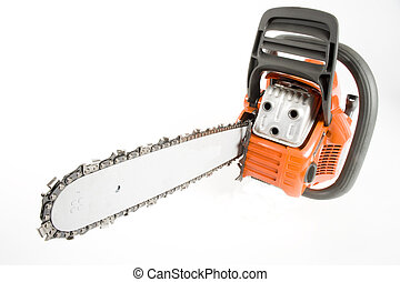 Chainsaw - A new chainsaw isolated