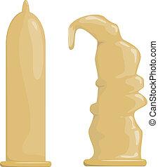 Condoms. EPS10