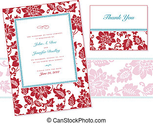 Vector Rose Frame Set. Easy to edit. Perfect for...