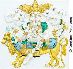 Deus, sucesso, 11, 32, postura, indianas, ou, Hindu, Deus,...