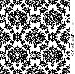 Vector Seamless damask pattern