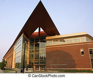Armstrong Hall - photo of Armstrong Hall of Engineering at...