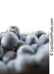 Close up of Blue Berries