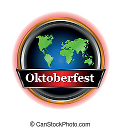 New sign Oktoberfest - New signs Oktoberfest in unique style...