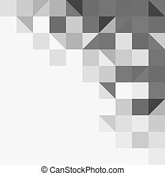 Light grey geometric background - Background structure from...