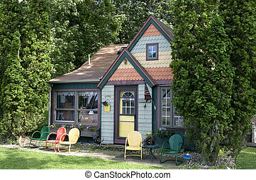 Small Cottage in Lake Okoboji Iowa