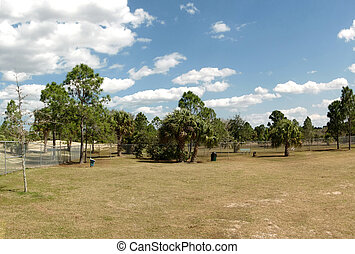 Dog Park in Palm Bay Florida