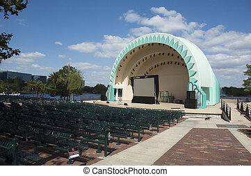 Amphitheater in Orlando at Lake Eola Park