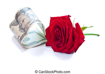 dollar and rose - dollars and rose