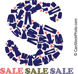 SALE with different clothes