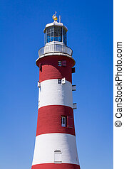 Smeaton Tower Plymouth - The former Eddystone Lighthouse,...