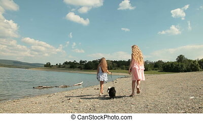 Children with Dogs