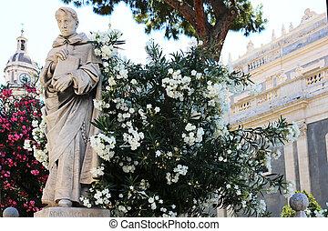 Priest Statue Catania