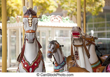 Vintage carousel - Merry-go-round vintage carousel