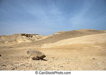 Landscape of Desert and rocks near Hurghada, Egypt