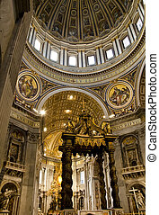 St Peter Cathedral in Vatican