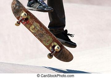 Skateboarder, Saltar, engaños