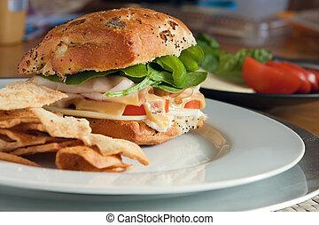 Tasty Deli Sandwich