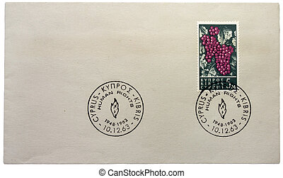 Cypriot Stamp - CYPRUS - CIRCA 1963: a stamp printed by...