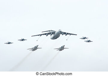 Il-78, Su-24, Yak-130 - Il-78 is a four-engined aerial...
