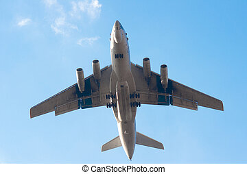 Il-76 is a multi-purpose four-engined strategic airlifter
