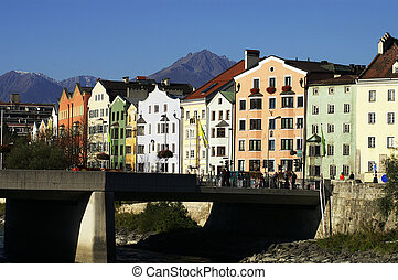 Innsbruck Old houses